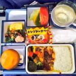 チャイナエアラインの機内食レビュー 2016年3月