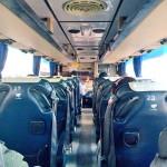 エカマイ発パタヤ行きのバス車内のトイレ