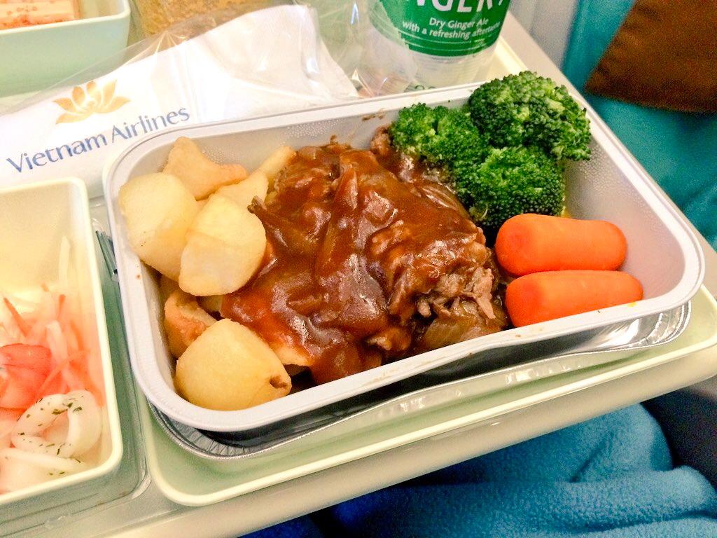 英語 機内 食